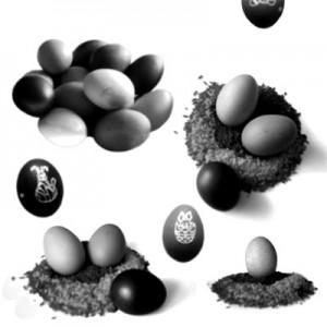 070908egg 300x300 Кисть для фотошопа   Пасха и пасхальные яйца