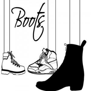 080908foots 300x300 Кисть для фотошопа   Ботинки и обувь