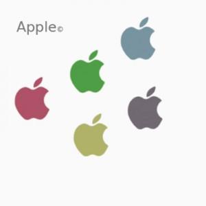 090508apple 300x300 Кисть для фотошопа   Логотип и символика Apple