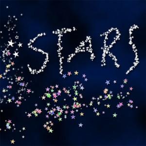 100608star 300x300 Кисть для фотошопа   Мелкие звездочки, плотная линия