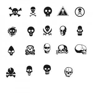 10408skuls 300x300 Кисть для фотошопа   черепа черепушки в значках