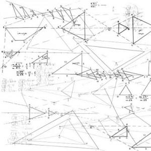 120508geometri 300x300 Кисть для фотошопа   Геометрические треугольники, чертежи