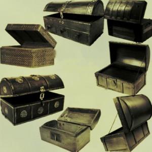 190508sunduk 300x300 Кисть для фотошопа   Пиратские сундуки сокровищ