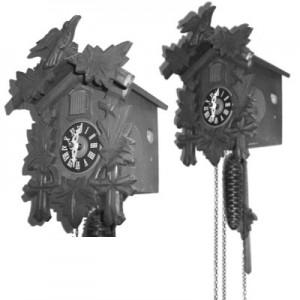 200508clock 300x300 Кисть для фотошопа   Деревянные часы с кукушкой