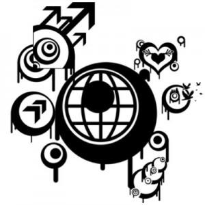 200608exp vec 300x300 Кисть для фотошопа   векторные круги и стрелы, сердце