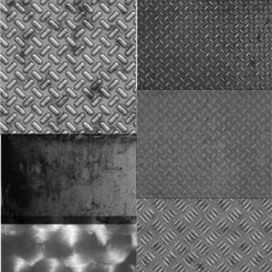 200908met 300x300 Кисть для фотошопа – Металлический пол.