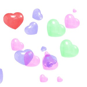 Bubble hearts by Ephedrina stock 300x300 Кисть для фотошопа   Bubble hearts