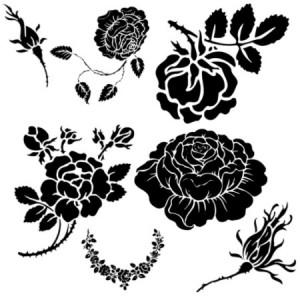 Roses.1 300x300  Кисть для фотошопа   Розы