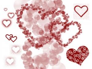 freeborders 300x225 Кисть для фотошопа   про Любовь