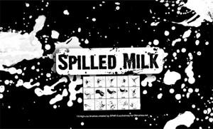 "Spilled milk brushes 300x181 Кисти для Фотошоп – ""пролитое молоко"""