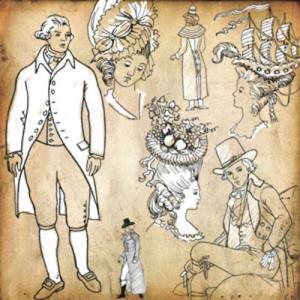 210408oldt 300x300 Кисть для фотошопа   Старые персонажи 17 18 века