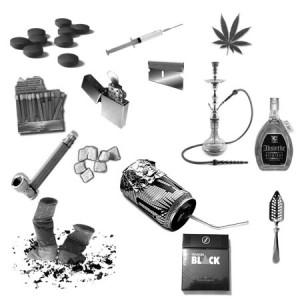 Addictions 300x300 Кисть для фотошопа   Зависимость и наркотики