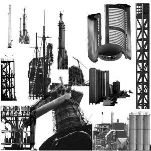 Cityscape 300x300 Кисть для фотошопа   Заводы, трубы, техника и механика