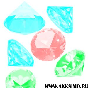 Diamonds Кисть для фотошоп   Бриллианты
