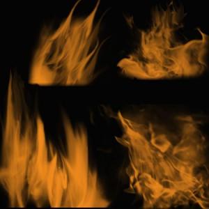 Flames2 300x300 Кисть для фотошопа – Прямое плавное пламя