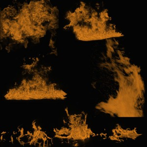 Flames3 300x300 Кисть для фотошопа   Сильное пламя
