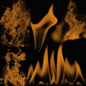 Flames5 300x300 Кисть для фотошопа   Огонь и сильное пламя