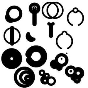 Futurecircles 300x300 Кисть для фотошопа   Векторные круги и окружности