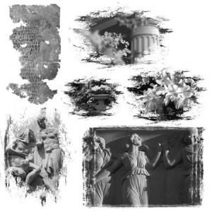 Loth Lorien 300x300 Кисть для фотошопа   Античные фигуры и статуи