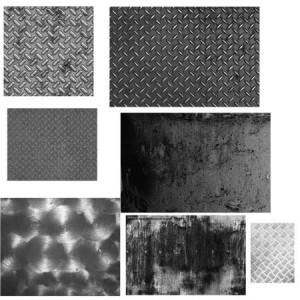Metal Set by For Certain 300x300 Кисть для фотошопа   Поверхности стали, решёток, железный пол