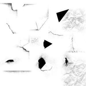 Paper01 300x300 Кисть для фотошопа   Кусочки рваной мятой бумажки