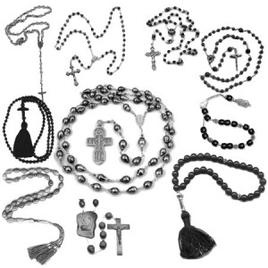 Prayer Beads 300x300 Кисти для фотошопа   Религия, христианские крестики и цепочки