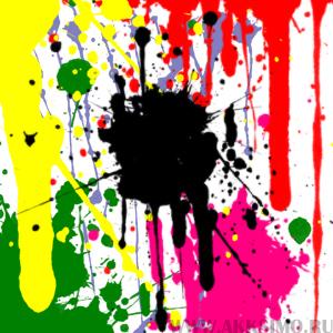 SM SplatterisM1 Low Кисть для фотошопа   Пятна краски