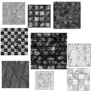 Texture Tiles 1 300x300 Кисть для фотошопа   Кафель, плитка, кирпич, бетон