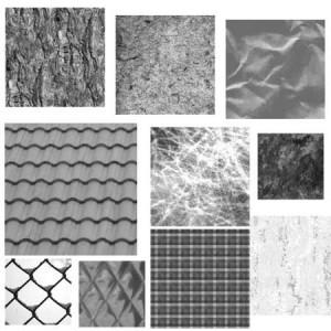 Texture Tiles 2 300x300 Кисти для фотошопа   Черепица, сетка, бумага, текстуры