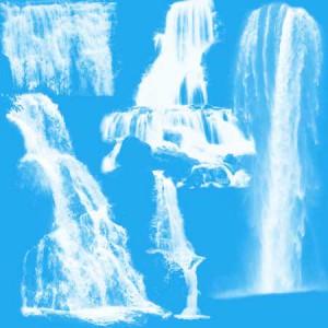 Waterfalls4 300x300 Кисть для фотошопа   Высокие распадающиеся водопады