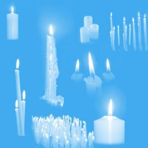brushes3054 300x300 Кисть для фотошопа   Свечи, свечки церковные