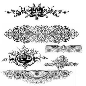 brushes3265 300x300 Кисть для фотошопа – Декоративные орнаменты