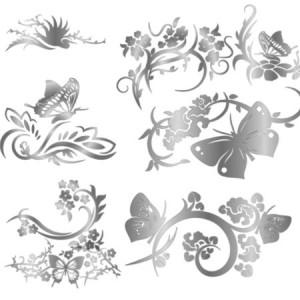 brushes3346 300x300 Кисть для фотошопа – Декоративные орнаменты для создания коллажей