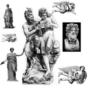 brushes3360 300x300 Кисть для фотошопа   Древние мифологические статуи