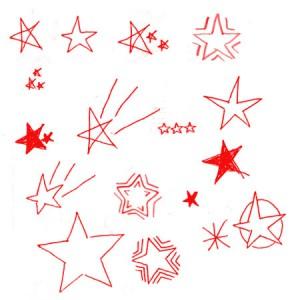 brushes5240 300x300 Кисть для фотошопа   Звезды и звездочки советского типа
