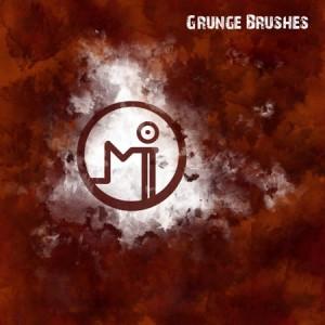brushes5246 300x300 Кисть для фотошопа   Grunge