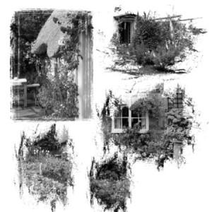 brushes5256 300x300 Кисти для фотошопа   Старые дома и окна