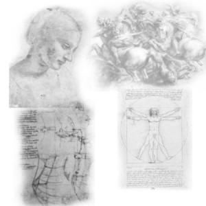 brushes5265 300x300 Кисти для фотошопа   Рисунки Леонардо Да Винчи