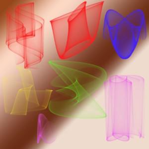 brushes5282 300x300 Кисть для фотошопа   A3D Sine1 конусы