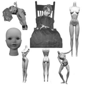 brushes5296 300x300 Кисть для фотошопа   Куклы и манекены