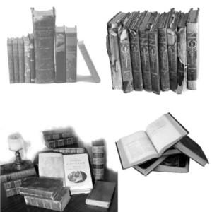 brushes5297 300x300 Ксить для фотошопа   Старые книги на полке