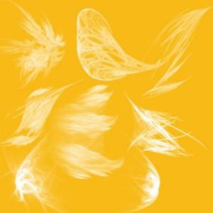 brushes5339 300x300 Кисть для фотошопа   Fractal Wings 5