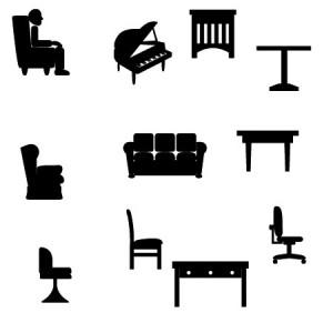 brushes5341 300x300 Кисти для фотошопа   Мебель