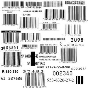 brushes5441 300x300 Кисти для фотошопа   Набор штрих кодов.