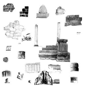 brushes5443 300x300 Кисти для фотошопа   Каменные блоки