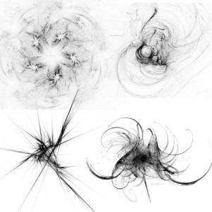 brushes5533 300x300 Кисть для фотошопа   Abstract lines