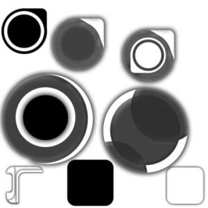 brushes5552 300x300 Кисть для фотошопа   Набор векторных кругов