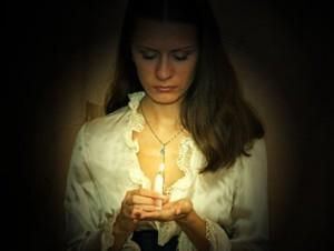 candle2 300x226 Видеоурок   Свечка в руках