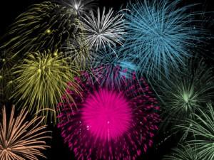 fireworks1 300x225 Кисть для фотошопа   Салют и фейерверк