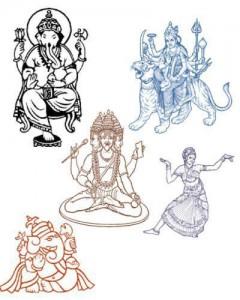 indian 240x300 Кисть для фотошопа   Боги Индуизма и Индии